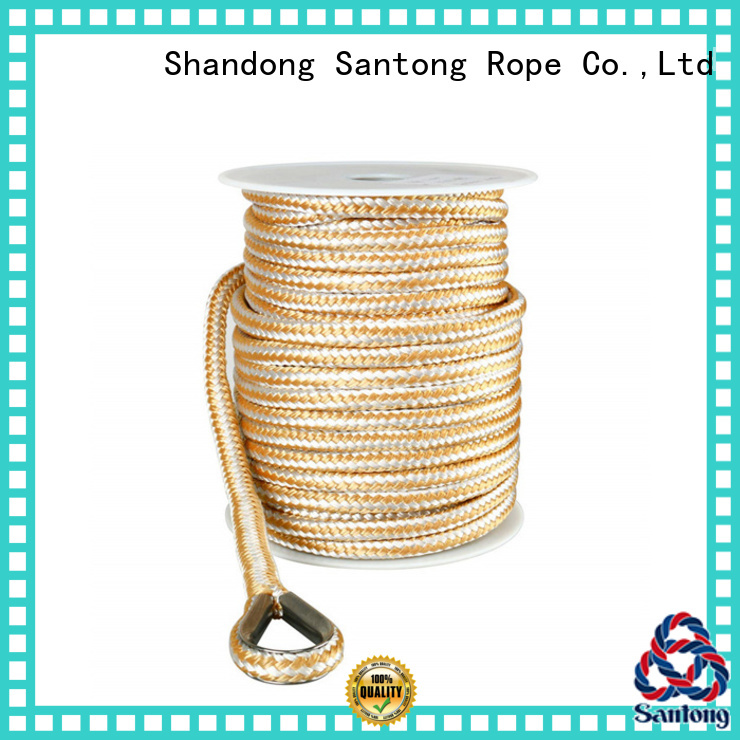 durable boat anchor rope factory price for gas