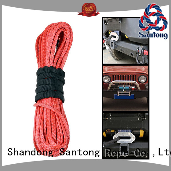 SanTong stronger braided rope on sale for vehicle