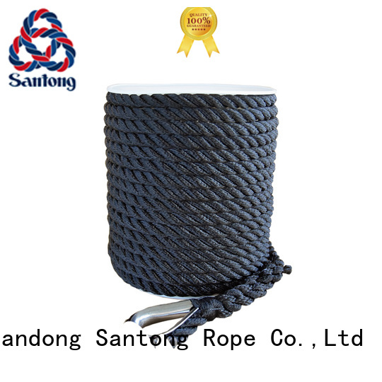 double polyester rope factory price for gas SanTong