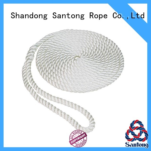 SanTong twisted fender rope inquire now for prevent damage from jetties