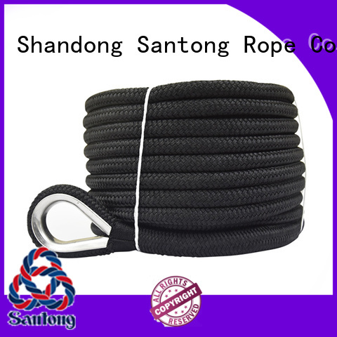 SanTong good quality boat anchor rope wholesale for saltwater