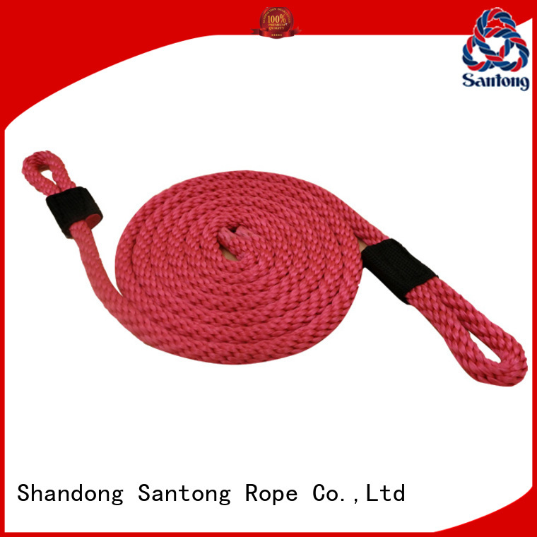 SanTong light polyester rope with good price for docks