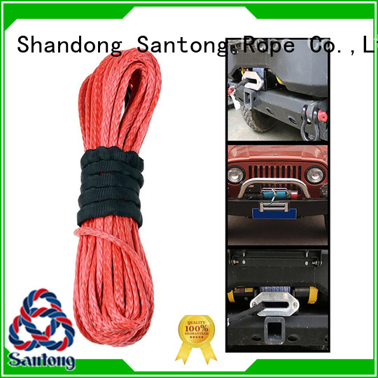 SanTong yellow braided rope wholesale for truck