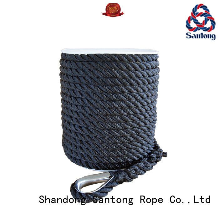 SanTong anchor rope for boats wholesale for saltwater