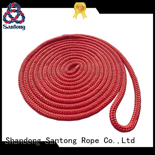 SanTong goldwhite braided rope wholesale for skiing