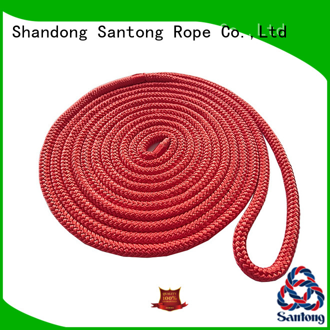 SanTong dock mooring lines factory price for tubing