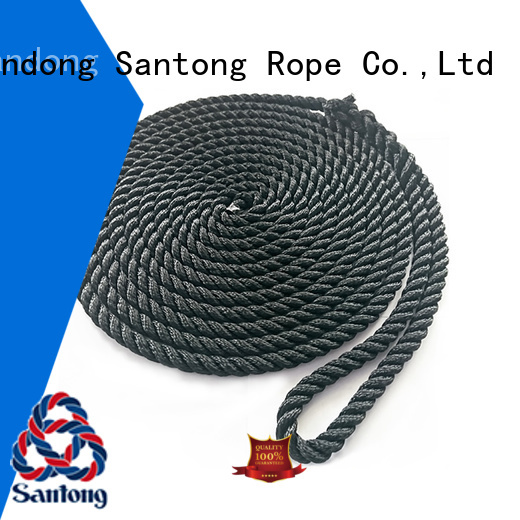 stretch mooring lines black factory price for wake boarding