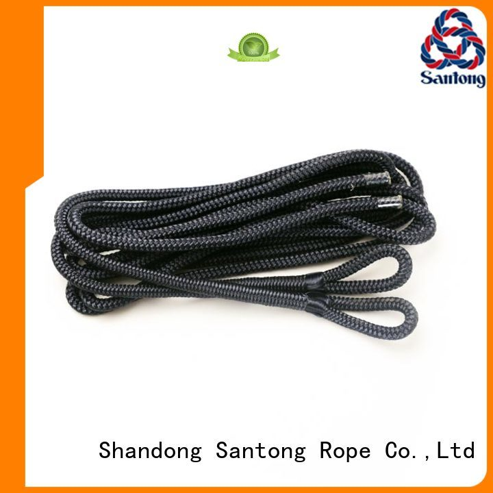 SanTong multifunction fender rope factory for pilings