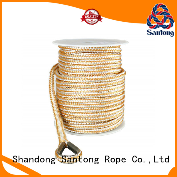 anchor braided rope factory price for saltwater SanTong