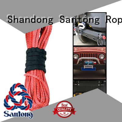 winch rope price description for vehicle SanTong