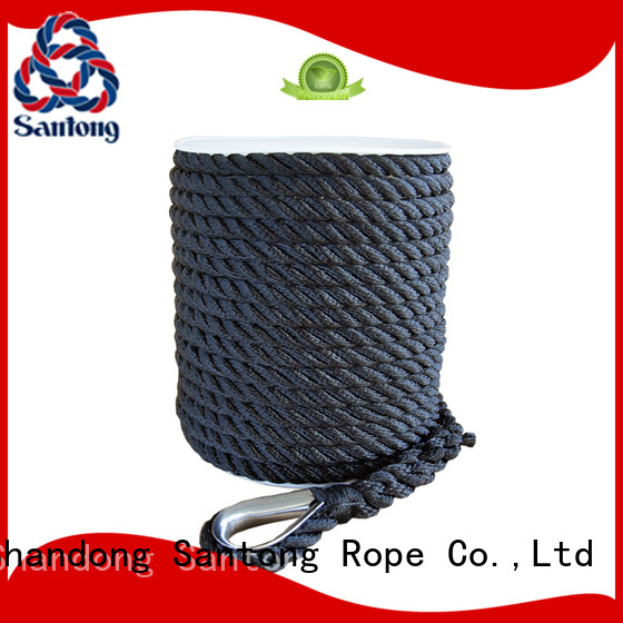 SanTong professional boat anchor rope at discount for gas
